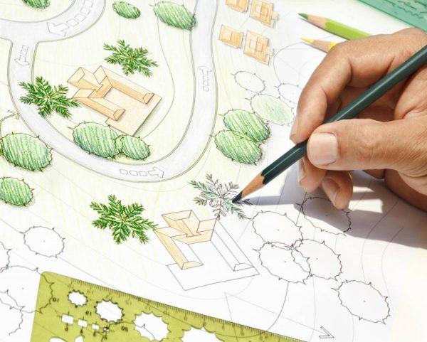 tuinplan ontwerp